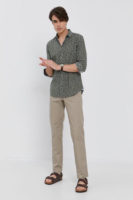 Sisley - Kalhoty béžová