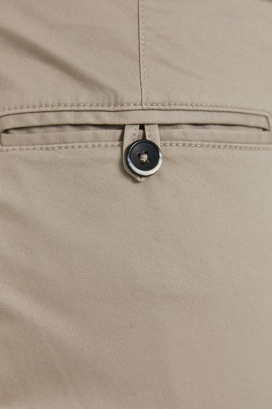 béžová Sisley - Kalhoty