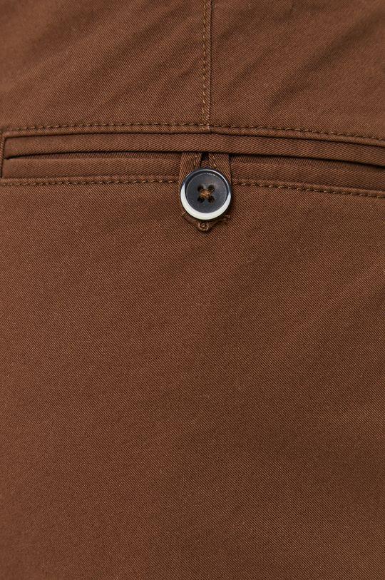 hnědá Sisley - Kalhoty