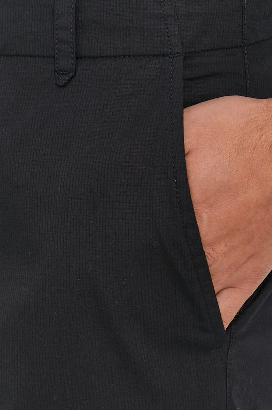 czarny Sisley - Spodnie