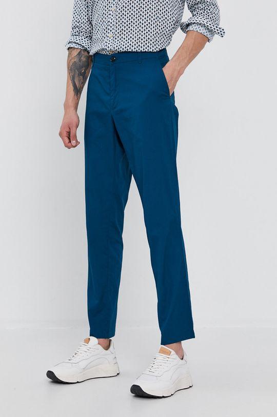modrá Sisley - Kalhoty Pánský