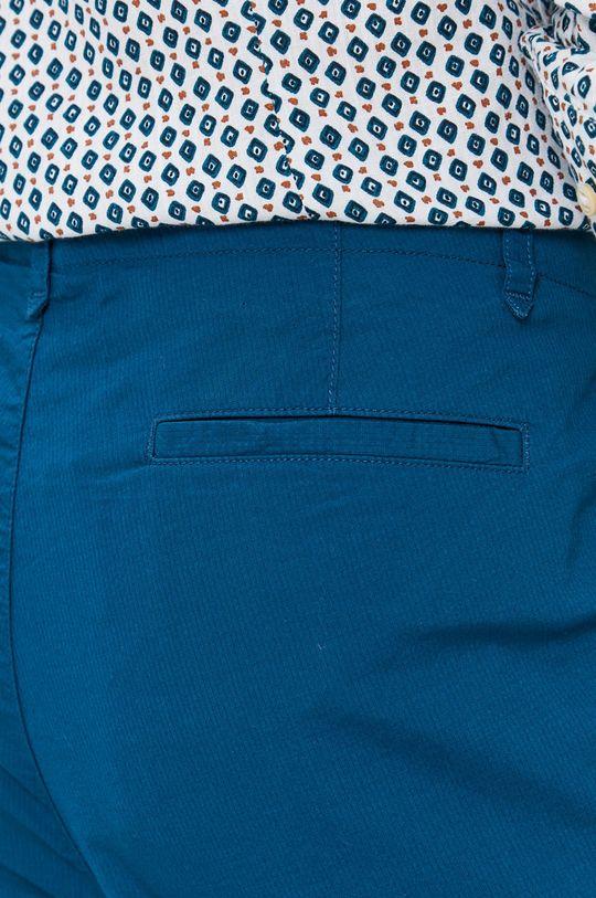modrá Sisley - Kalhoty