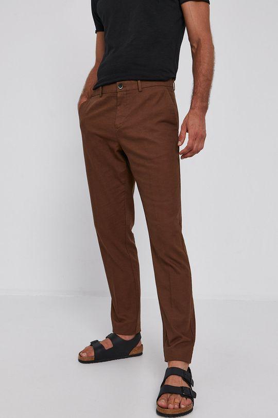 Sisley - Kalhoty hnědá