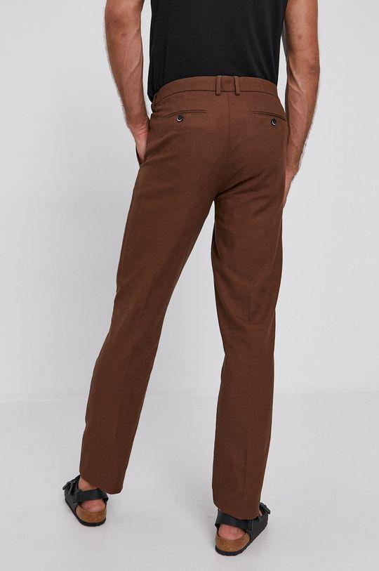 Sisley - Kalhoty  70% Bavlna, 30% Len