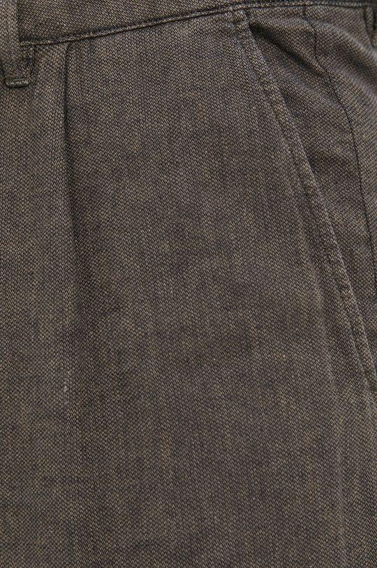 olivová Sisley - Kalhoty