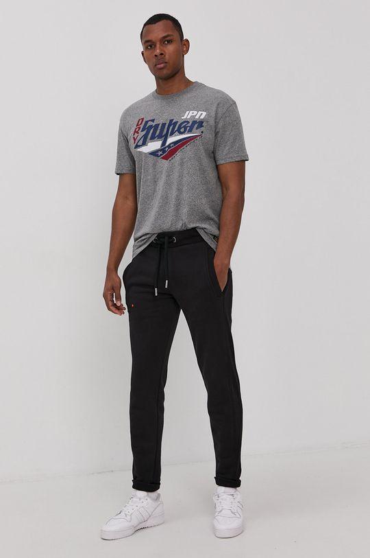 Superdry - Spodnie czarny