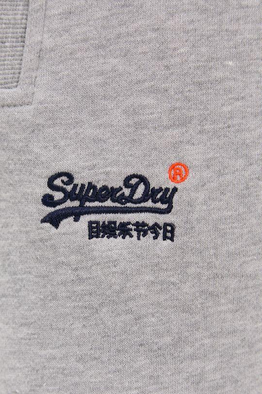 szary Superdry - Spodnie