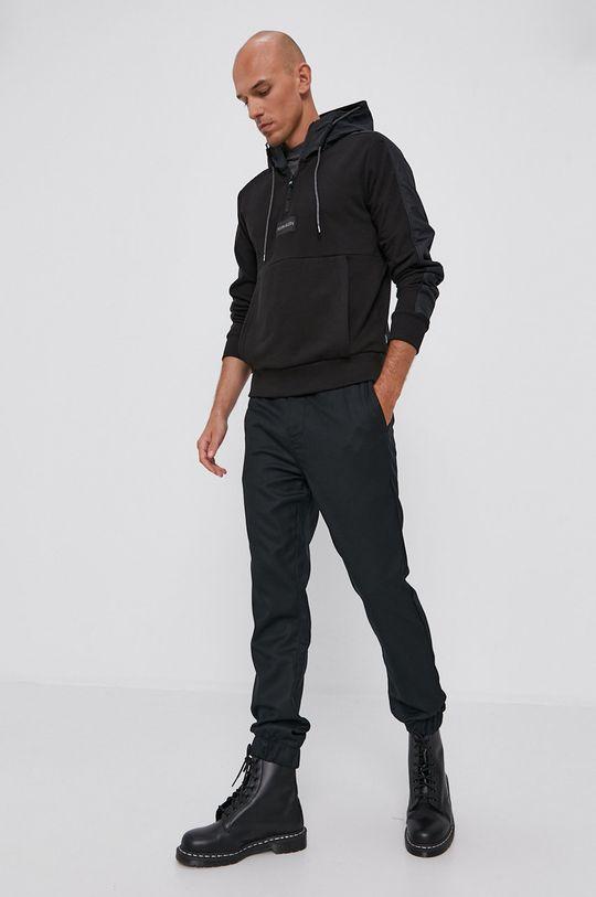 černá Calvin Klein Jeans - Kalhoty