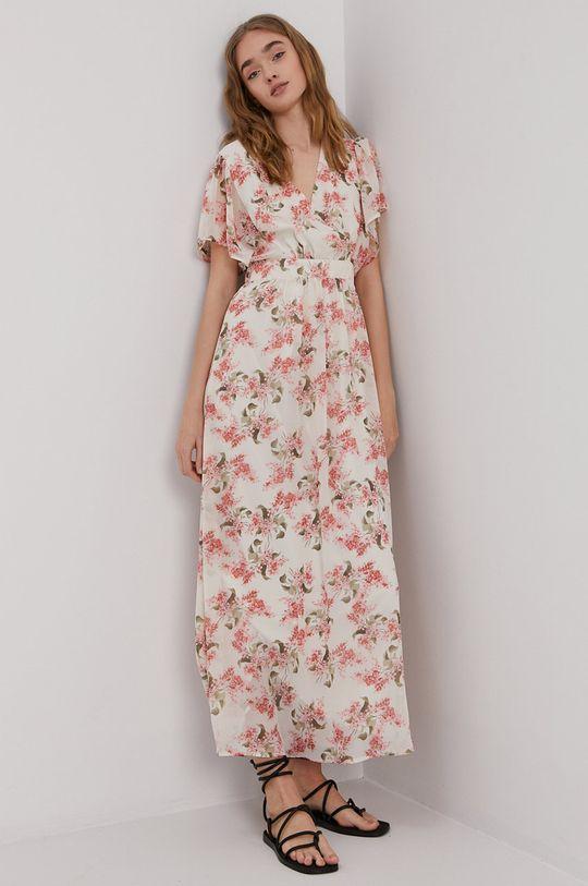 Vila - Sukienka kremowy