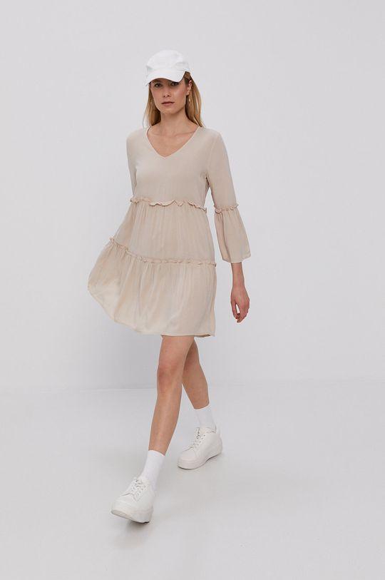 Jacqueline de Yong - Sukienka piaskowy
