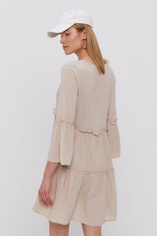piaskowy Jacqueline de Yong - Sukienka