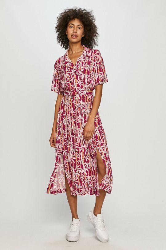 Quiksilver - Šaty sýto ružová