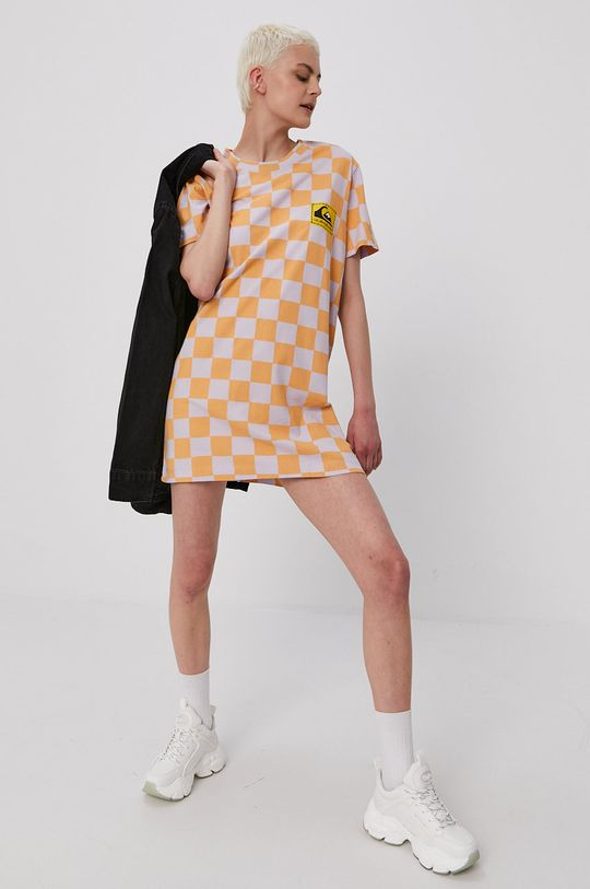 pomarańczowy Quiksilver - Sukienka Damski