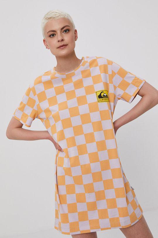 Quiksilver - Sukienka pomarańczowy
