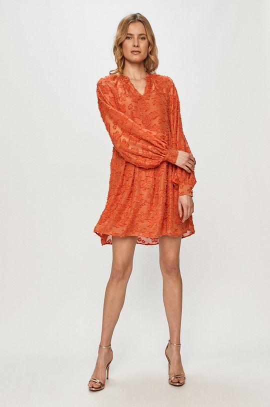 Vero Moda - Rochie portocaliu