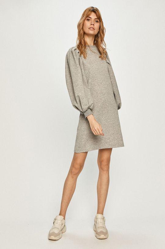 Vero Moda - Šaty svetlosivá