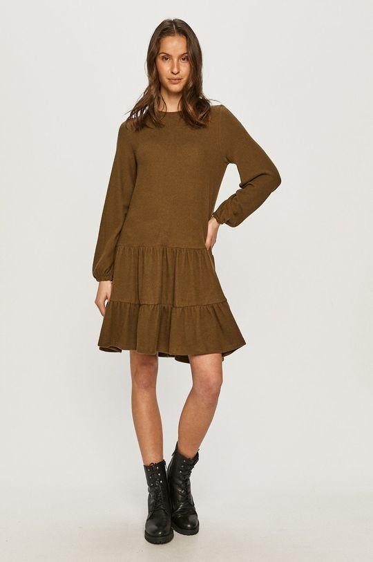 Vero Moda - Sukienka militarny