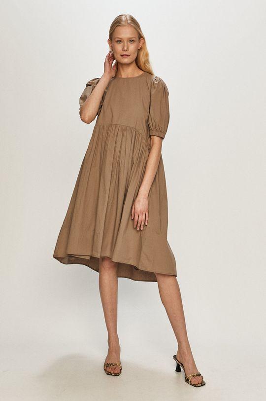 Vero Moda - Sukienka jasny szary