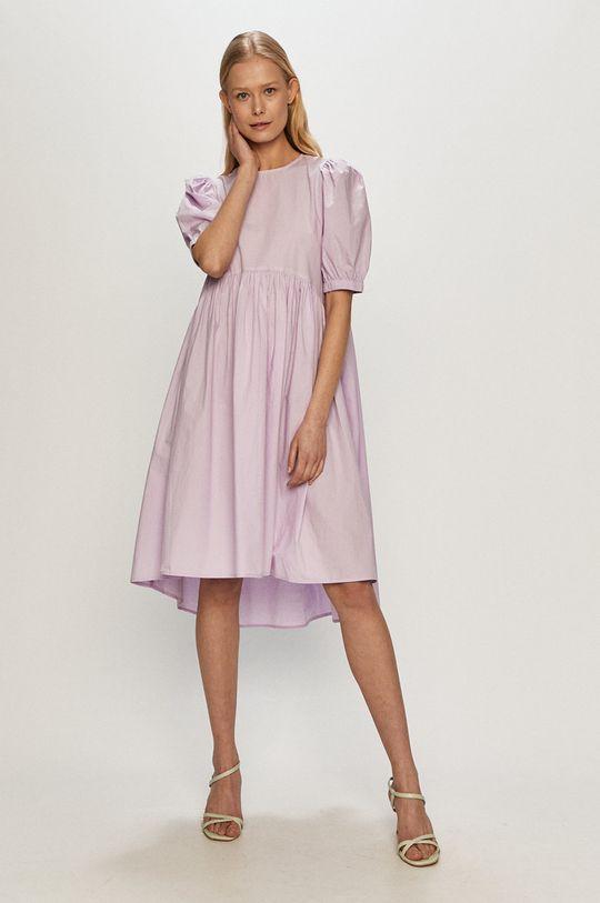 winogronowy Vero Moda - Sukienka