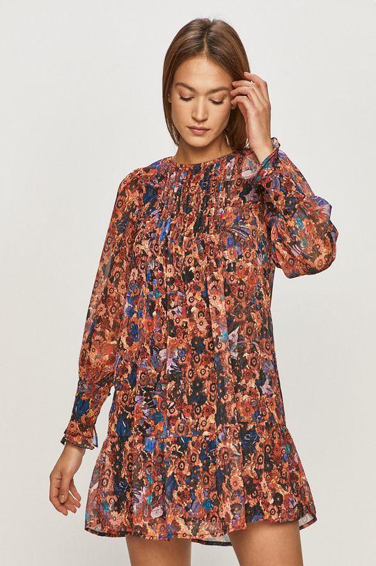 viacfarebná Vero Moda - Šaty Dámsky