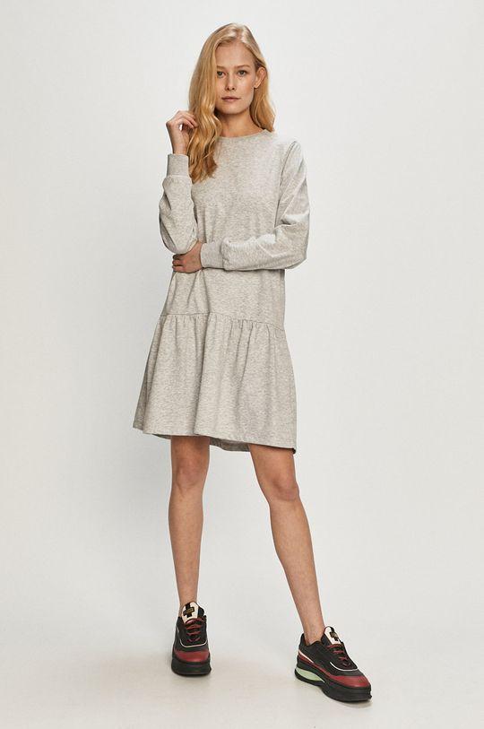 Jacqueline de Yong - Sukienka jasny szary