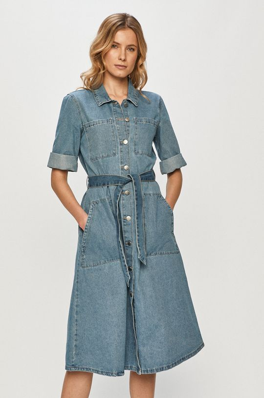 albastru Jacqueline de Yong - Rochie jeans De femei