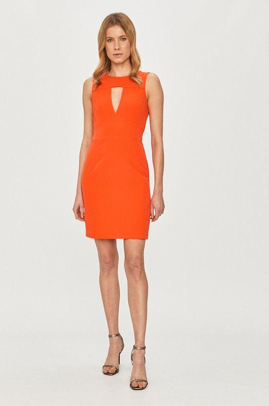 Guess - Šaty oranžová