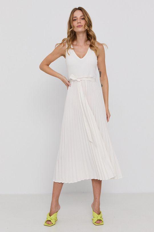 Guess - Sukienka kremowy