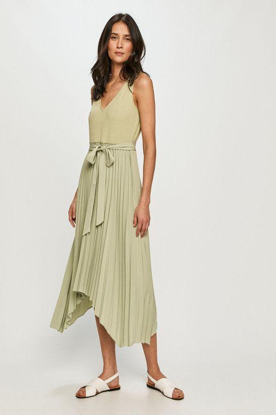 Guess - Sukienka brudny zielony