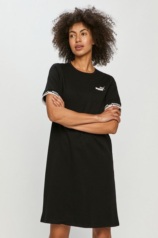 čierna Puma - Šaty Dámsky