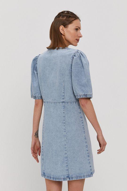 Pieces - Sukienka jeansowa 100 % Bawełna organiczna