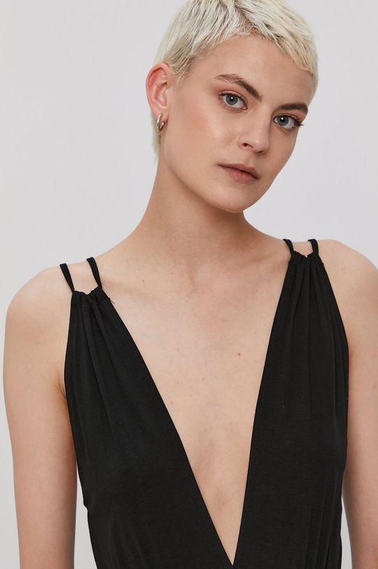 černá Pieces - Šaty