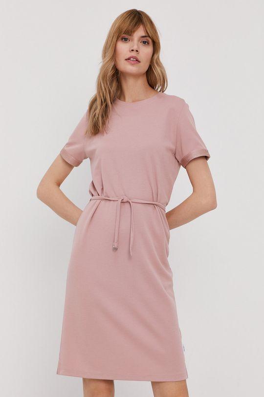 ružová Calvin Klein - Šaty Dámsky