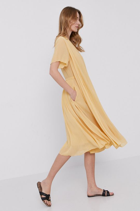 svetložltá Samsoe Samsoe - Šaty