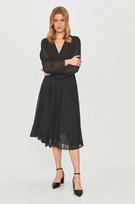 Samsoe Samsoe - Šaty černá
