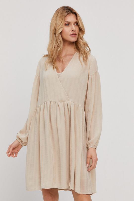 Samsoe Samsoe - Sukienka piaskowy