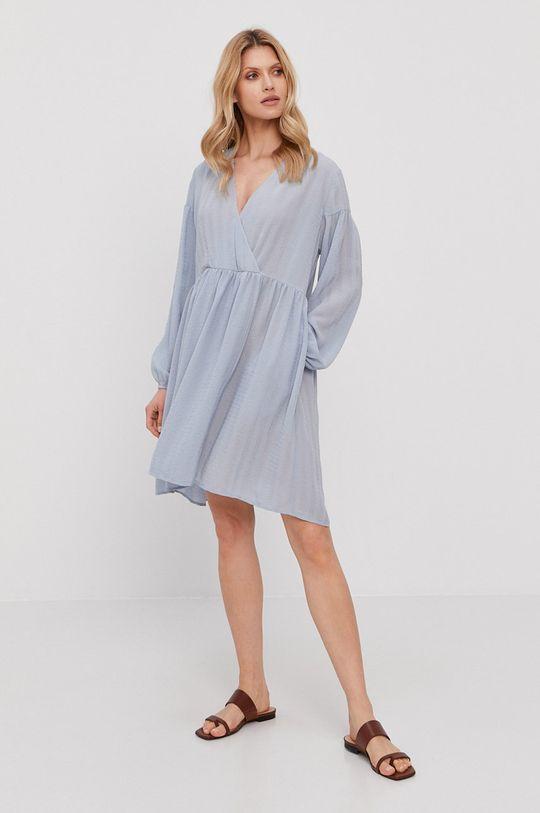 Samsoe Samsoe - Sukienka jasny niebieski