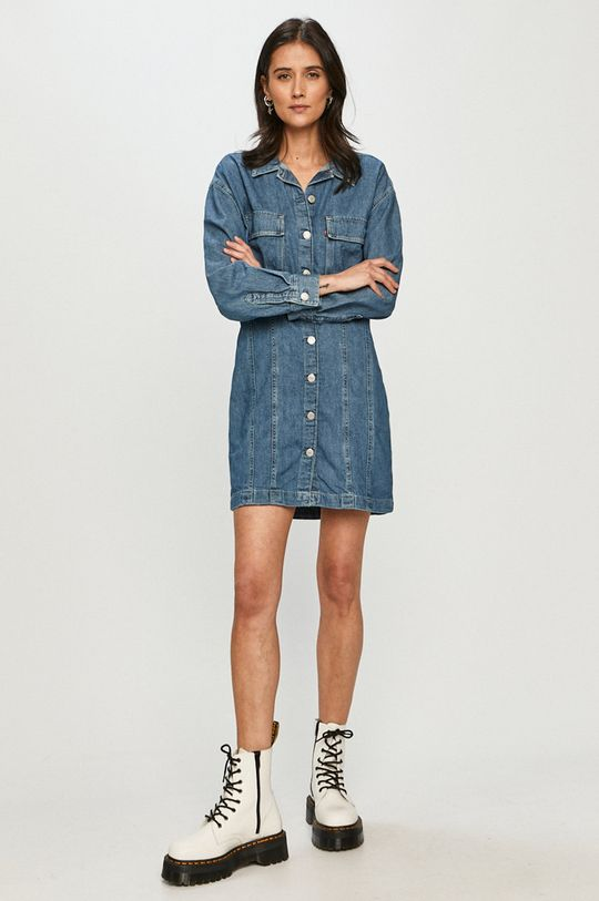 Levi's - Sukienka jeansowa niebieski