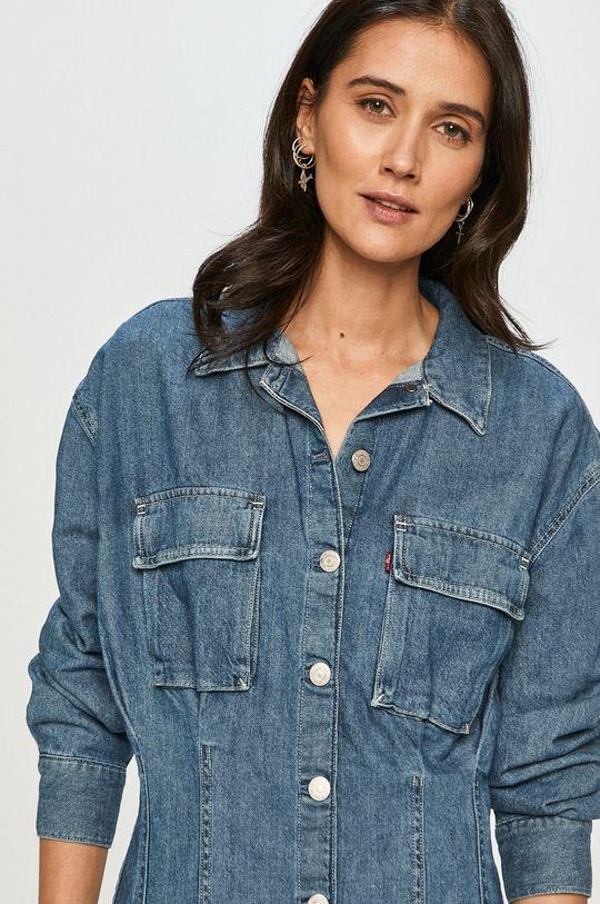 niebieski Levi's - Sukienka jeansowa