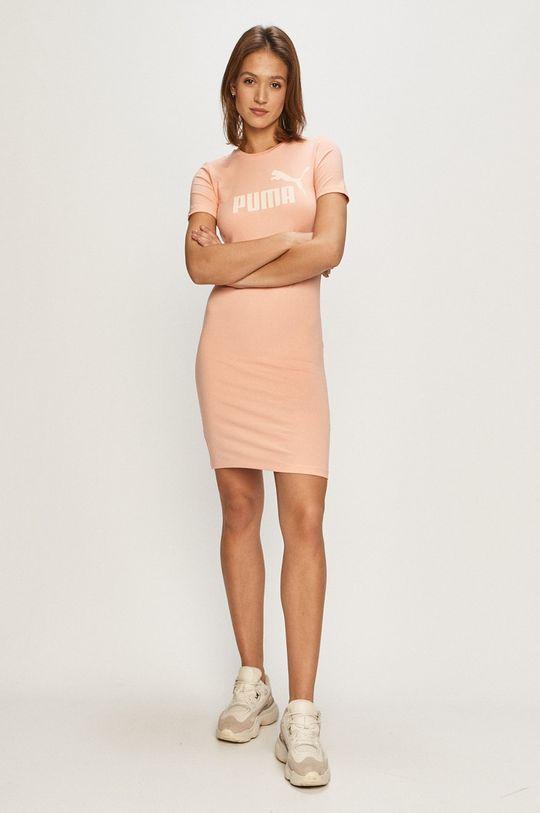 Puma - Šaty ružová