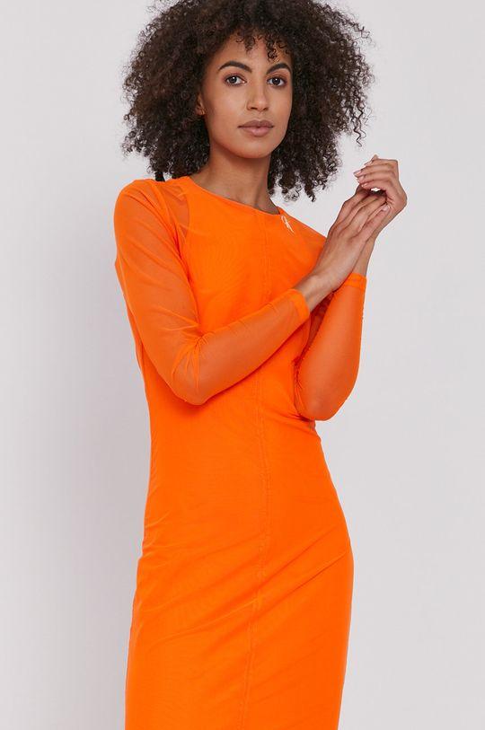 pomarańczowy Calvin Klein Jeans - Sukienka