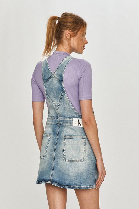 Calvin Klein Jeans - Džínové šaty  80% Bavlna, 1% Elastan, 4% elastomultiester, 15% Jiný materiál