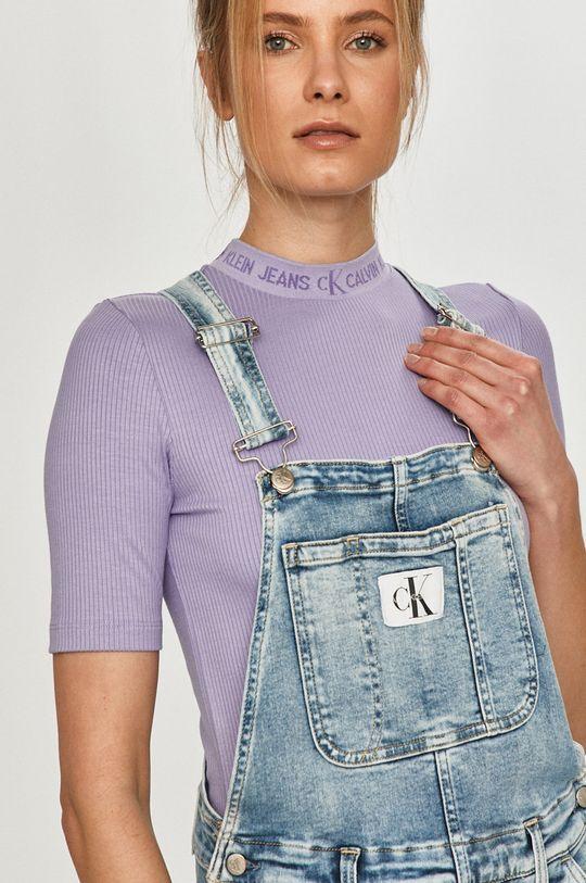 modrá Calvin Klein Jeans - Džínové šaty