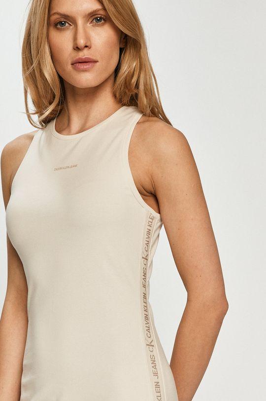 Calvin Klein Jeans - Šaty  95% Bavlna, 5% Elastan