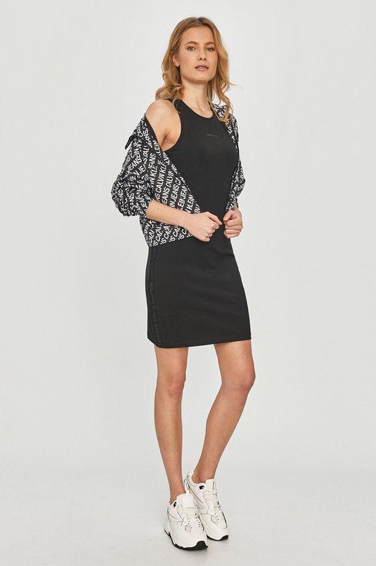 Calvin Klein Jeans - Šaty černá