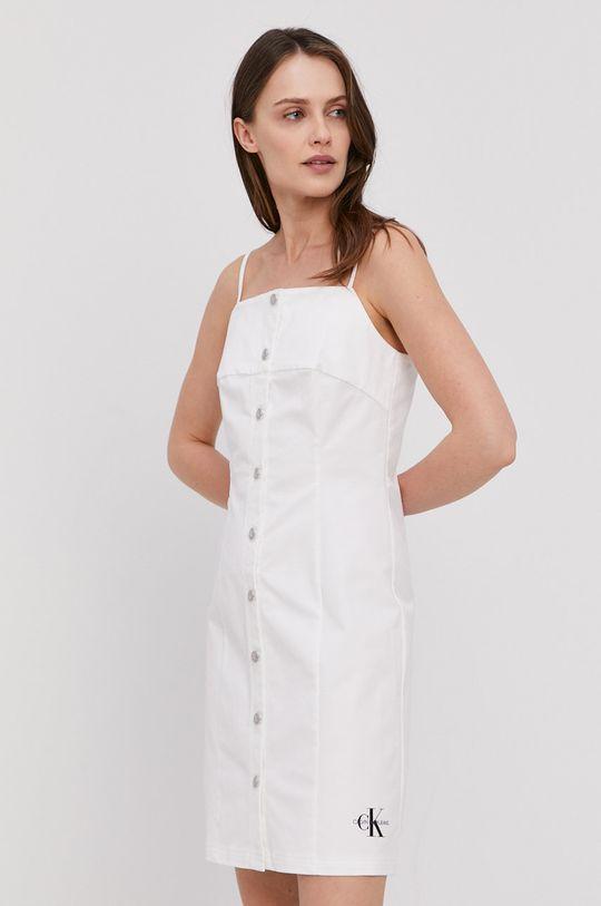 biały Calvin Klein Jeans - Sukienka Damski