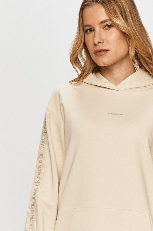 piesková Calvin Klein Jeans - Šaty
