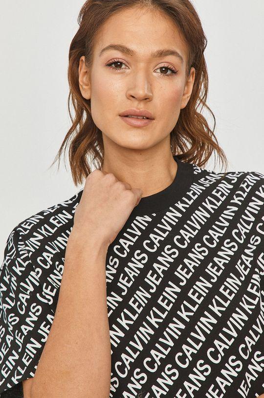 čierna Calvin Klein Jeans - Šaty