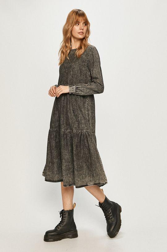 Noisy May - Šaty sivá