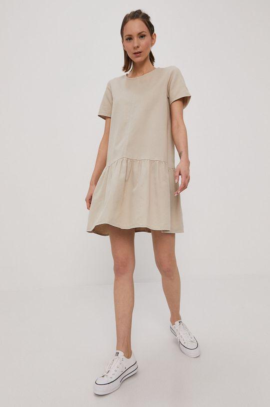 Noisy May - Sukienka jasny szary